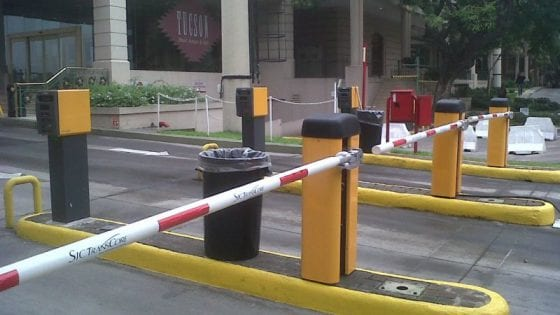 Sistema cobro estacionamiento