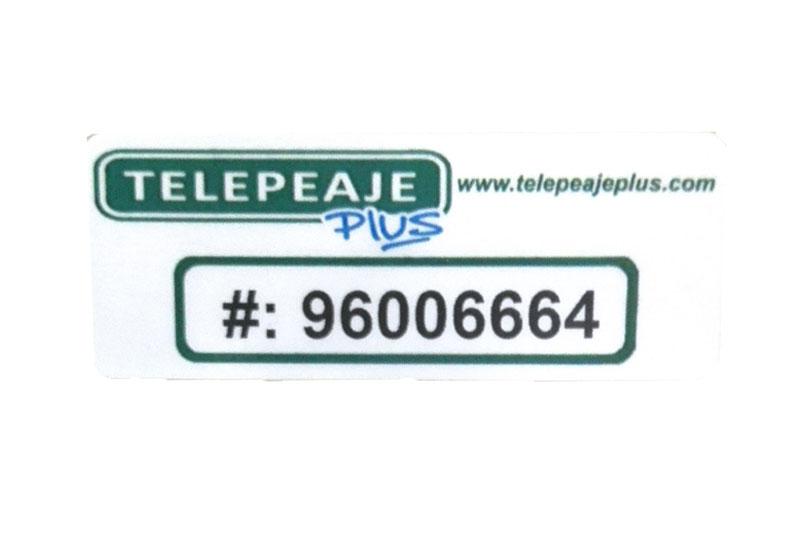 Sticker Tag Telepeaje