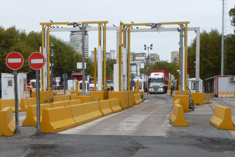 Sistema lectura camiones