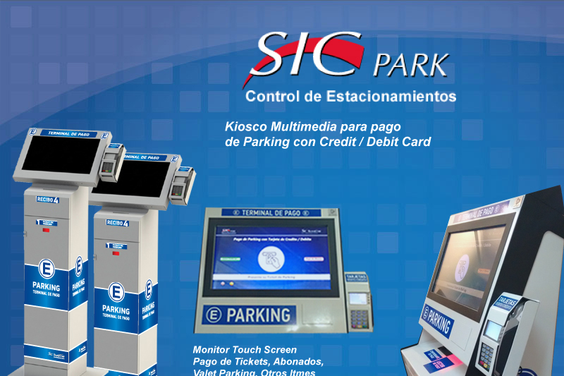 ATM pago parking